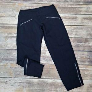 Athleta Pants - Athleta Black Crop Athletic Pants